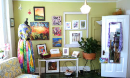 Life Needs Art Studio, at Uncommon Art, Hudson, Ohio