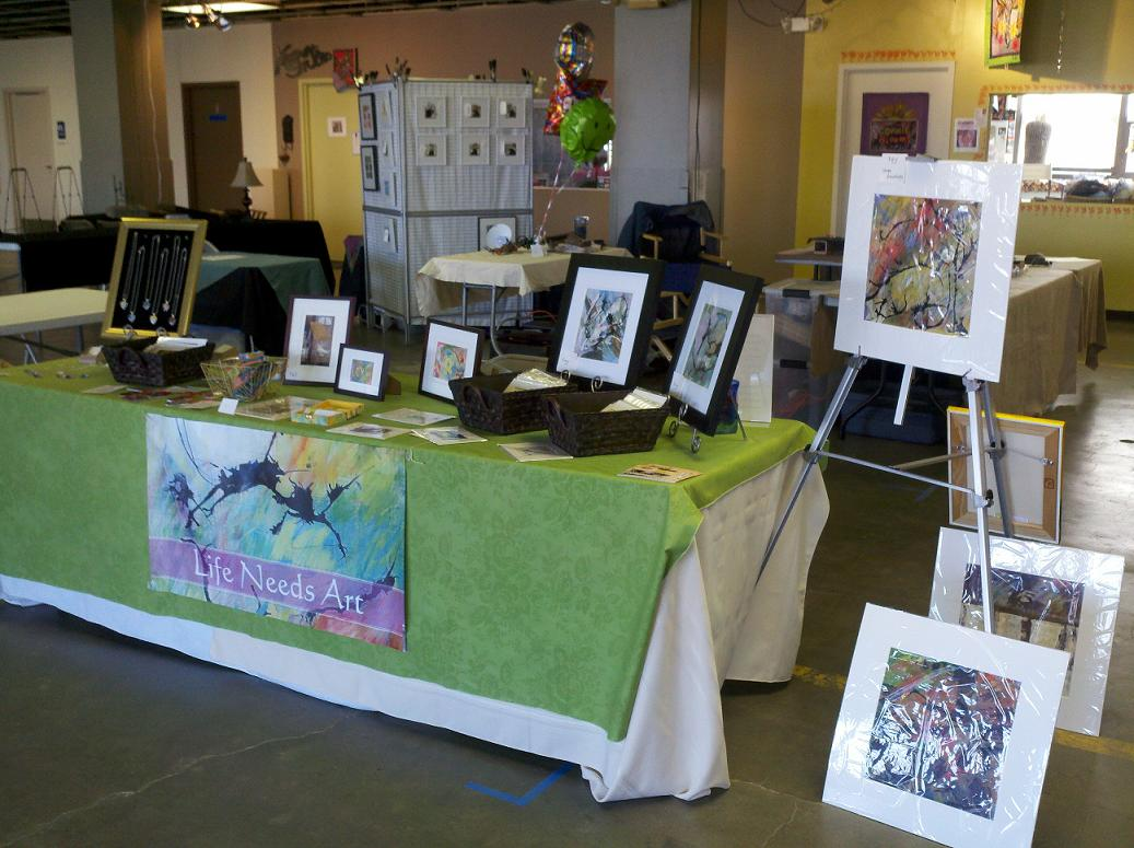 Holiday ArtWalk Fair at Summit ArtSpace in Akron, OH