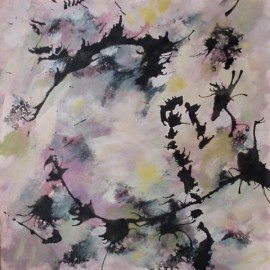 memories 2 abstract painting by life needs art