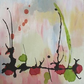 abstract painting by Karen Koch Life Needs Art