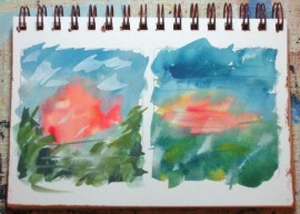sketches for geneva, gouache, life needs art