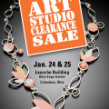Art Studio Clearance Sale, Columbus, OH January 24-25, 2015