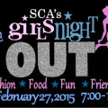 Solon Center For The Arts Girls Night Out, February 27, 2015 Logo