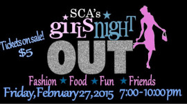 Girls Night Out, February 27, 2015