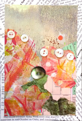All Buttoned Up #7, a collage