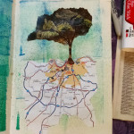 Roots and Roads Journal Page, Karen Koch