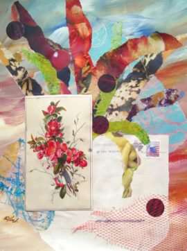 Remembrance, collage, by Karen Koch