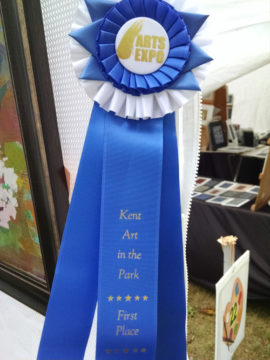 1st Place Blue Ribbon, Kent Art In The Park