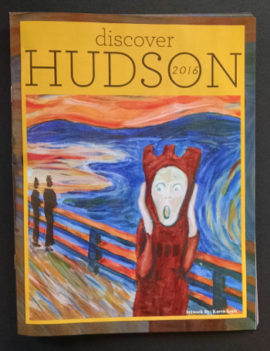 Discover Hudson 2016, cover