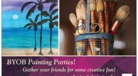 Last Call For Painting Parties!