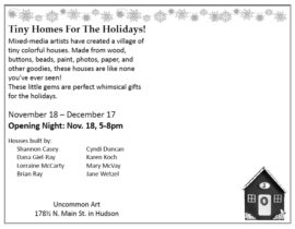 Tiny Homes For The Holidays, Details