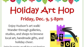 Holiday Art Hop on December 9th