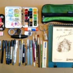 Sketching Supplies That I Took To The Urban Sketchers Symposium and What I Actually Used