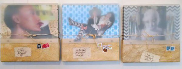 Packaged Moments, collage by Karen Koch