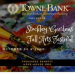 Stockley Gardens Art Festival, Oct. 21-22