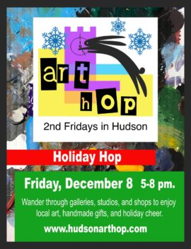 2017 holiday hop in Hudson